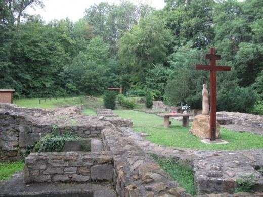 Budaszentlőrinci pálos kolostorrom