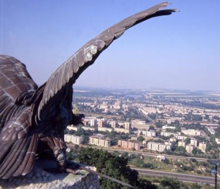Turul-emlékmű Tatabánya