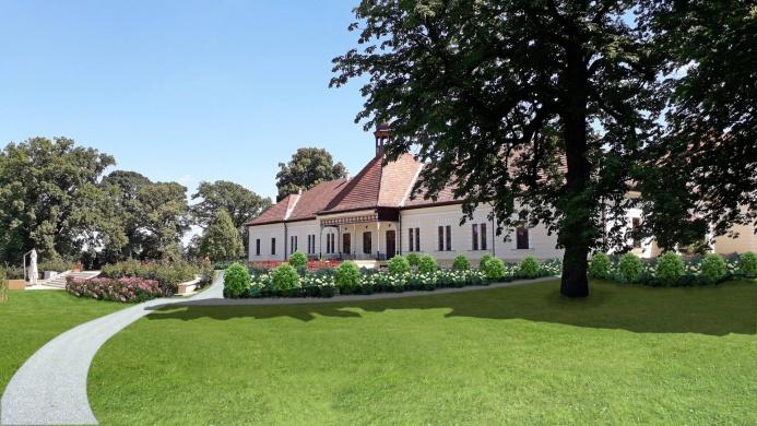Szenttamási Kastély és Park