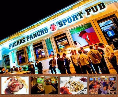 Puskás Pancho Sport Pub Budapest