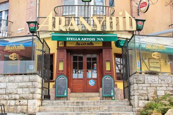 Aranyhíd Étterem Pub Budapest