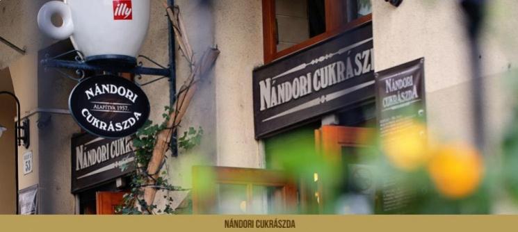 Nándori Cukrászda Budapest