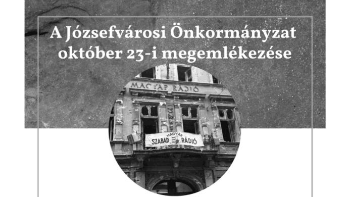 Október 23 Józsefváros Budapest