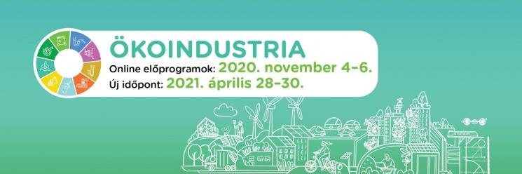 Ökoindustria 2021 ONLINE. Környezetipari, Energiahatékonysági és Megújuló Energiaforrások Kiállítás