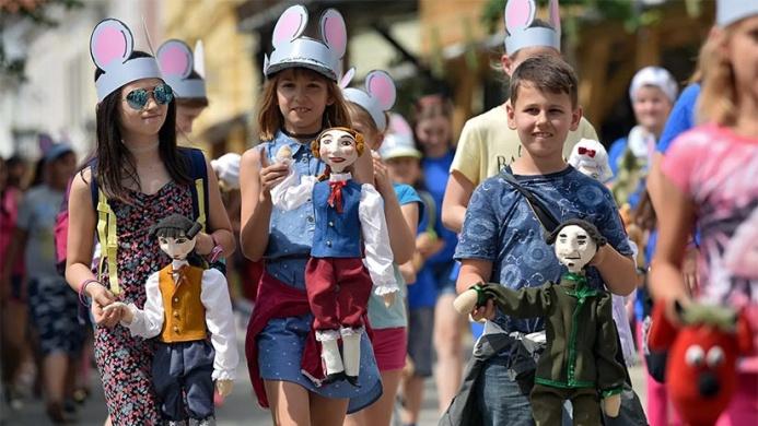 Gyermekbábosok Országos Fesztiválja Eger