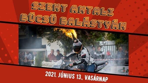 Búcsú Balástya 2021. Szent Antali Búcsú