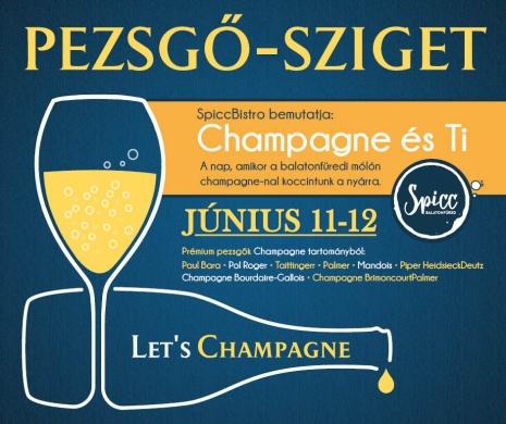 Pezsgő-sziget, Champagne és Ti 2021 Balatonfüred