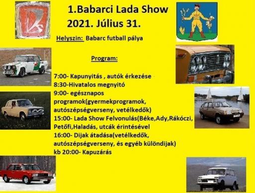 Babarc Lada Találkozó 2021. Autó Show