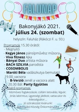 Bakonyjákó Falunap 2021