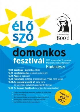 Domonkos Fesztivál 2021 Budakeszi
